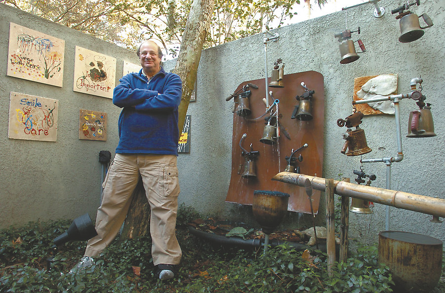 Bernie Pennock and the Blowtorch Fountain