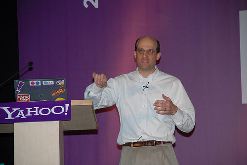 David Pennock speaking at Yahoo! Big Thinkers India June 2009
